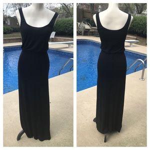 WHBM form fitting maxi dress